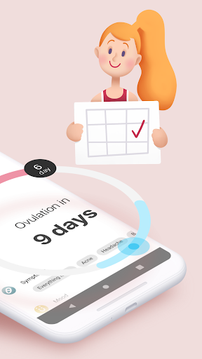 Period tracker for women. Ovulation calculator ud83dudc97 2.2.1 Screenshots 2