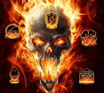 Cool Flame Skulls Theme For Windows 7/8/10 Pc And Mac   Download & Setup 2