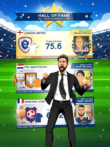 Idle Eleven - Be a millionaire soccer tycoon screenshots 18