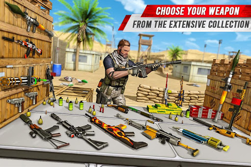 Télécharger Gratuit FPS Gun Shooter - Jeux de tir contre le terrorisme apk mod screenshots 1