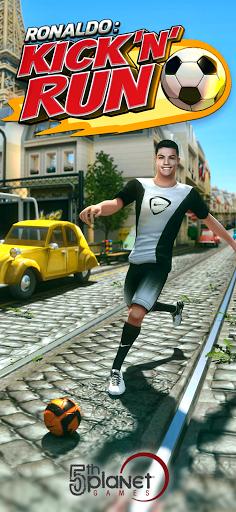 Cristiano Ronaldo: Kick'n'Run u2013 Football Runner android2mod screenshots 1