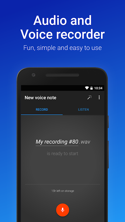 Easy Voice Recorder Pro  poster 0