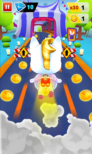 Unicorn Runner 2. Magical Running Adventure screenshots 18