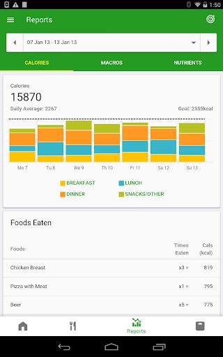 Calorie Counter by FatSecret android2mod screenshots 10