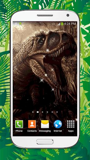 Dinosaur Live Wallpaper HD screenshots 2
