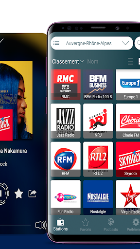 radios france: fm radio and internet radio screenshot 2