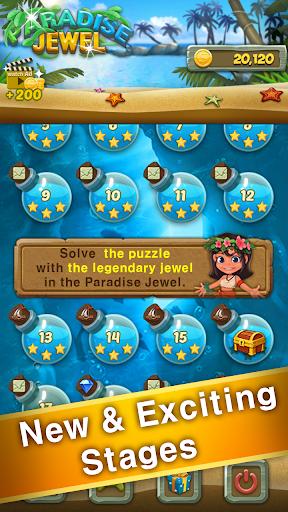 Paradise Jewel: Match 3 Puzzle  screenshots 10