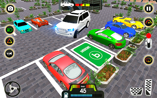 Code Triche Car parking 2021 driving car game 2020 real driver (Astuce) APK MOD screenshots 5