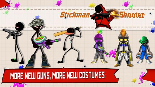 Stickman Shooter : Gun Shooting Games 9.8 screenshots 1