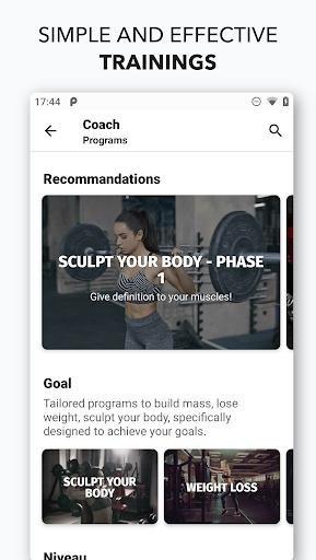 Gym Workouts & Fitness AZEOO 5.4.2 screenshots 1