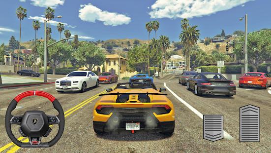 Lamborghini Huracan Driving Simulator 1.2 screenshots 1