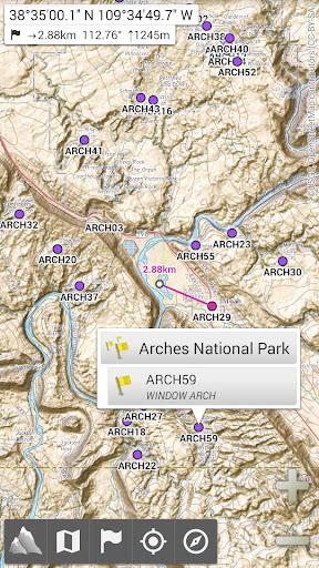 AlpineQuest Off-Road Explorer (Lite) 2.2.7b Screenshots 1