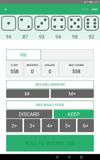 Xd6 - Dice Roller 1.0.8.2 screenshots 7