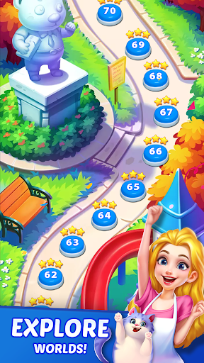 Candy Puzzlejoy - Match 3 Games Offline  screenshots 5