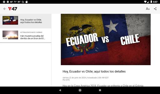 Telemundo 47 6.13 screenshots 13