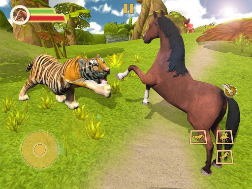 Ultimate Horse Simulator - Wild Horse Riding Game apkpoly screenshots 6