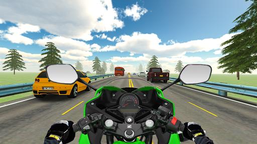Highway Real Traffic Bike Racer apkmartins screenshots 1