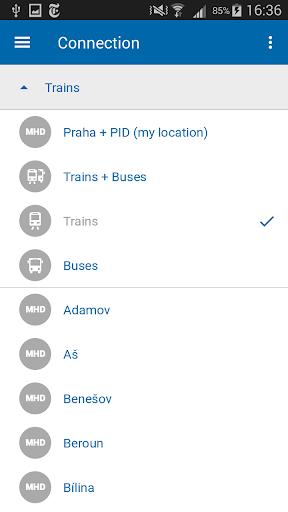 Czech Public Transport IDOS  screenshots 3