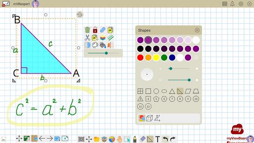 myViewBoard Whiteboard - Your Digital Whiteboard android2mod screenshots 13