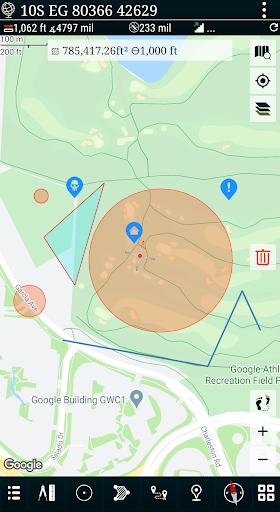 Mgrs & Utm Map apktram screenshots 4