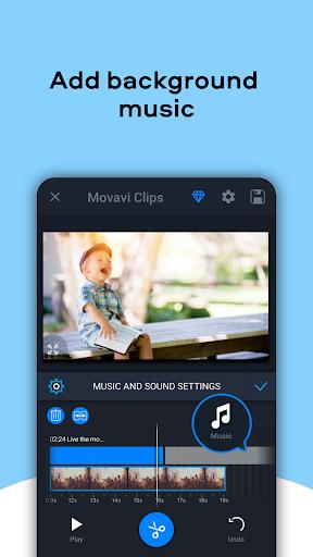 Movavi Clips - Video Editor with Slideshows  Screenshots 5