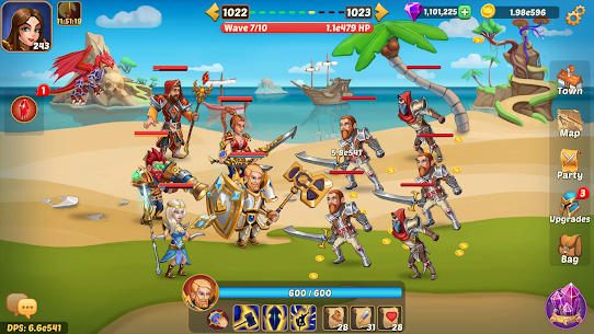 Firestone Idle RPG: Tap Hero Wars Mod Apk (God Mod) 4