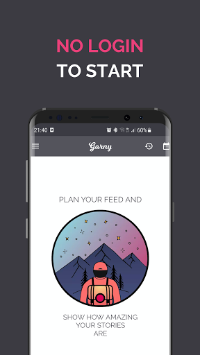 Garny: Feed Planner & Preview android2mod screenshots 1
