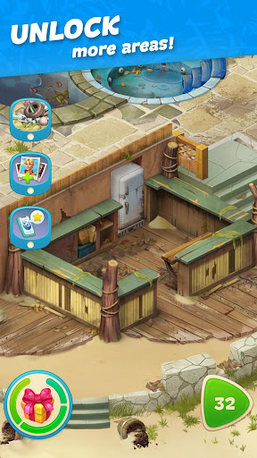 Hawaii Match-3 Mania Home Design & Matching Puzzle apkpoly screenshots 5