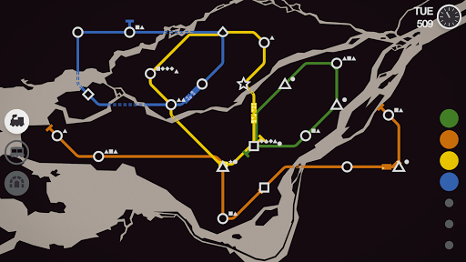 Mini Metro Varies with device screenshots 5