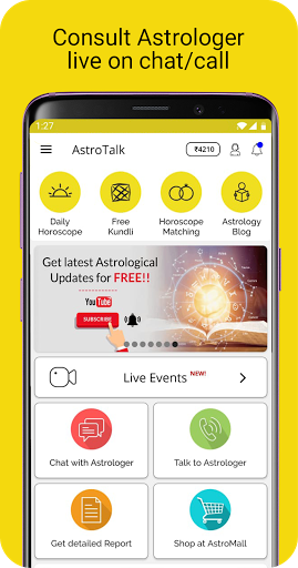 AstroTalk - Astrology Predictions by Astrologers screenshots 1