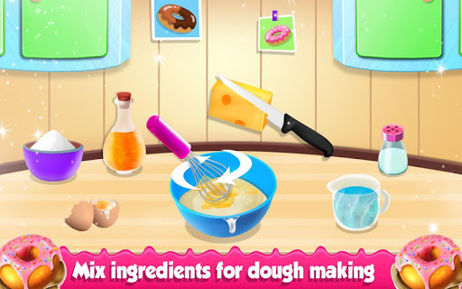 Donuts Factory Game : Donuts Cooking Game 1.0.3 screenshots 6