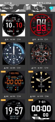 Amazfit T-Rex/T-Rex Pro - Watch Face android2mod screenshots 1