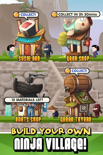 Ninja Fishing apkpoly screenshots 7
