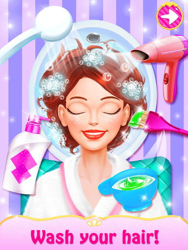 Spa Day Makeup Artist: Makeover Salon Girl Games android2mod screenshots 5