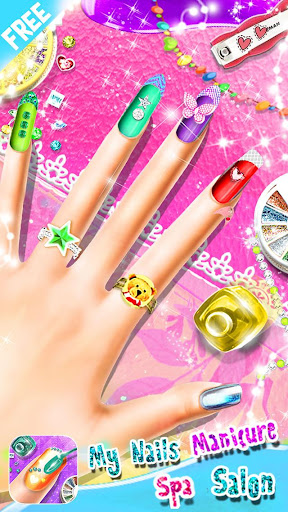 My Nails Manicure Spa Salon - Girls Fashion Game screenshots 8