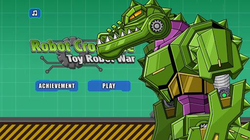 Robot Crocodile Toy Robot War screenshots 2
