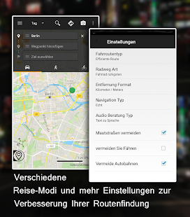 Offline Map Navigation Screenshot