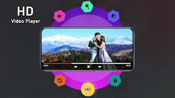 4K Video Player - All Format Full HD Video Player