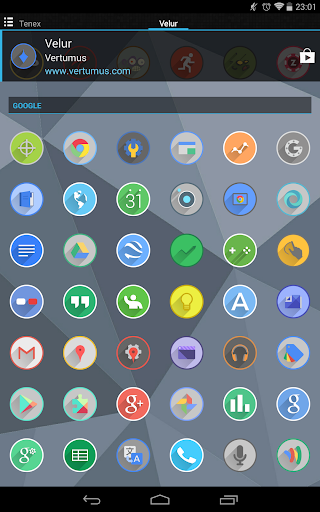 Velur - Icon Pack  screenshots 13