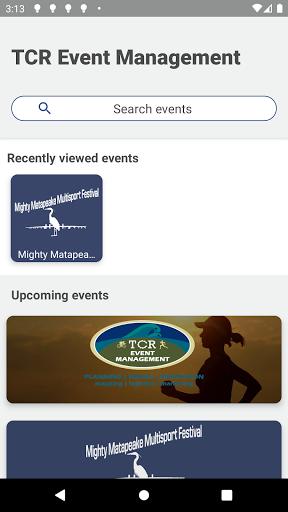 Télécharger Gratuit TCR Event Management  APK MOD (Astuce) screenshots 1