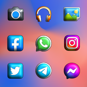 Pixly Limitless 3D APK- Icon Pack (PAID) Download Latest 3