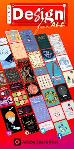 Adobe Spark Post: Graphic Design & Story Templates 6.5.0 (Pro)