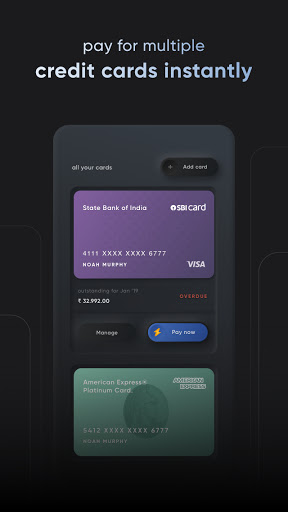CRED - pay your credit card bills & earn rewards screenshots 2