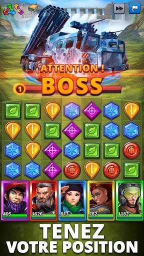 Code Triche Puzzle Combat: Match-3 RPG mod apk screenshots 2