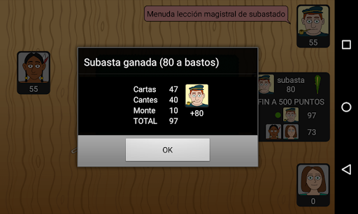 Tute Subastado 1.3.2 screenshots 8