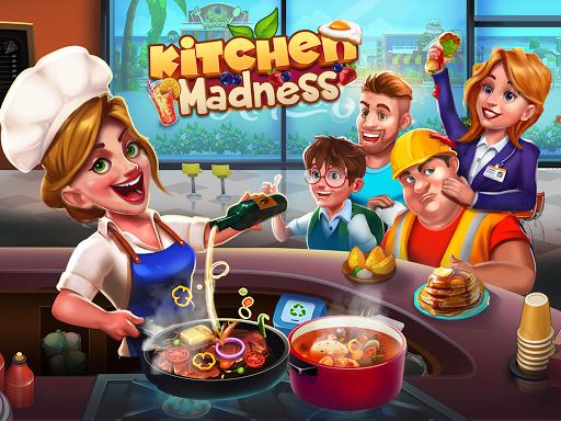 Kitchen Madness - Restaurant Chef Cooking Game Apkfinish screenshots 1