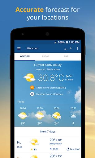 wetter.com - Weather and Radar 2.43.5 Screenshots 1