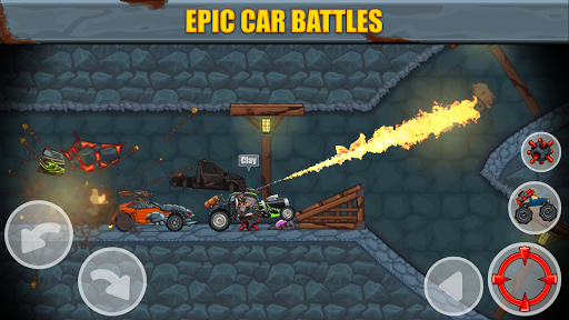 Max Fury - Road Warrior: Car Smasher screenshots 1