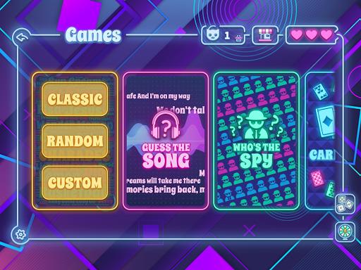 Party Animal : Charades - Guess the Song - Spyfall 6.2.4 screenshots 1