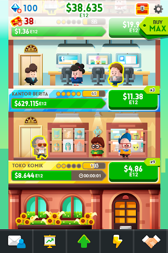 Cash, Inc. Money Clicker Game & Business Adventure 2.3.18.2.0 screenshots 2